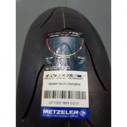 pneu arrière Metzeler 180/60ZR17