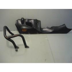 Sabot gauche noir Honda 1800 goldwing